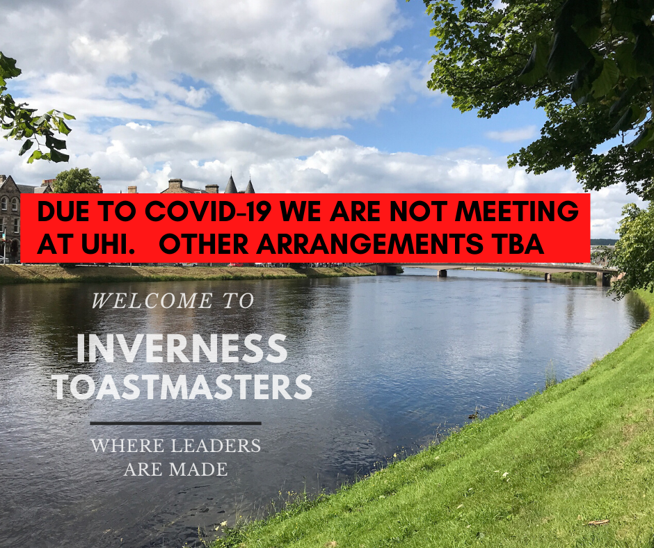 Inverness Scotland Toastmasters